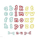 Alphabet Cutter Set by Sweet Sugarbelle