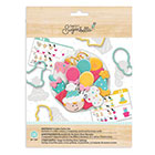 Birthday Cookie Cutter Stencil Set by Sweet Sugarbelle