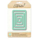 Nested Rectangle Cookie Cutter Set by Sweet Sugarbelle