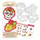 Day of the Dead Cookie Cutter Stencil Set by Sweet Sugarbelle