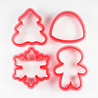 Winter Shape Shifters Cookie Cutter Stencil Set by Sweet Sugarbelle
