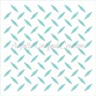 Diamond Slats Cookie Stencil