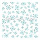 Retro Snowflake Cookie Stencil