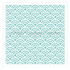 Small Circle Tile Cookie Stencil