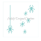Spiders Cookie Stencil