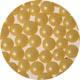 4mm Yellow Sugar Pearls / Dragees