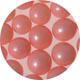 6mm Pink Sugar Pearls / Dragees
