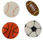 Icing Layons - Mini Sports Ball Assortment