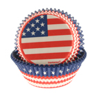 American Flag Standard Baking Cups