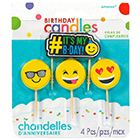 Emoji Icons Candle Set