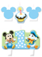 Mickey 1st Birthday Candle Set