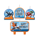 Planes Birthday Candle Set