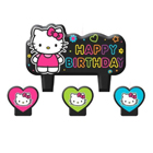 Hello Kitty Bright Birthday Candle Set