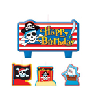Pirate Birthday Candle Set