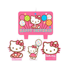 Hello Kitty Pastel Birthday Candle Set