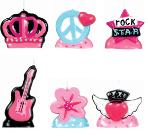 Candles - Rocker Princess
