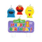 Sesame Street 1st Birthday Candle Set