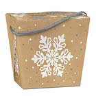 2 lb. Kraft Snowflake Take Out Treat Box
