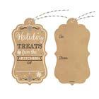 Kraft Snowflake Gift Tags w/ Twine