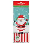 Jolly Santa Small Treat Bags