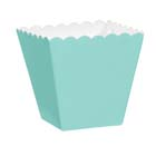 1/8 lb. Robin Egg Blue Favor Box