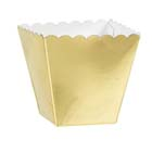 1/8 lb. Gold Favor Box