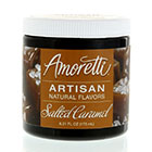 Salted Caramel Artisan Natural Flavors by Amoretti