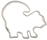 Skunk Cookie Cutter
