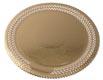 "Round Gold Cake Board- 10 1/2"""