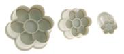 6 Petal Flower Plunger Cutter Set