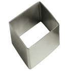 Stainless Steel Diamond Cookie Cutter