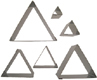 Triangle Cookie Cutter Set