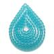 Fluted Teardrop Plastic Cutter Set
