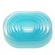 Oval Plastic Cutter Set