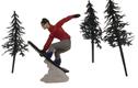 Snowboarder Cake Kit