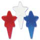 Red, White, & Blue Glitter Star Picks