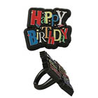 Happy Birthday Shimmer Rings