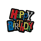 Birthday Shimmer Plaques