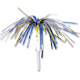 Blue & Gold Tinsel Picks