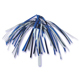 Royal Blue & Silver Tinsel Picks