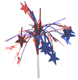 Red and Blue Patriotic Star Tinsel Picks