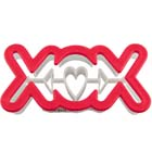 'XOX' Cookie Cutter Stamp
