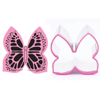Butterfly Cookie Cutter and Stamp Set