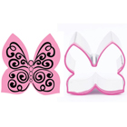 Butterfly Swirls Cookie Cutter and Stamp Set