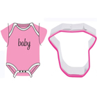 Baby Bodysuit Cookie Cutter and Stamp Set