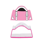 Handbag Cookie Cutter and Stamp Set