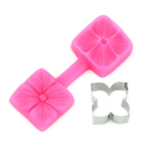 Hydrangea Silicone Mold and Cutter Set