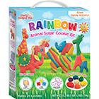 Rainbow Animal Cookie Kit