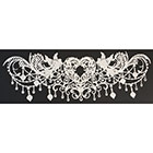 Chandelier Love Edible Lace