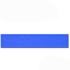 Moonstruck 2-Color Ribbon Silicone Mat